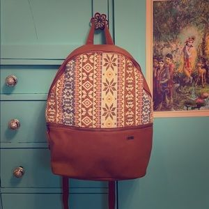 Embroidered Roxy Backpack NWT